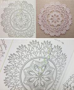 Kira scheme crochet: Scheme crochet no. 1714