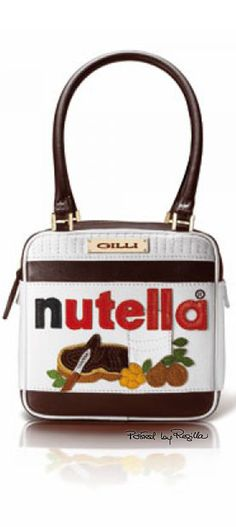 Regilla ⚜ Gilli, limited edition Nutella bag