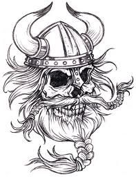 Black And White Viking Skull Tattoo Design: Real Photo Pictures . Viking Skull, Viking Helmet, Viking Art, Viking Warrior, Henna Tattoo Designs, Skull Tattoo Design, Viking Tattoo Design, Skull Design, Maori Tattoos