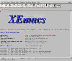 10 editori di testo liberi ed estremamente versatili per Ubuntu. ~ XEmacs