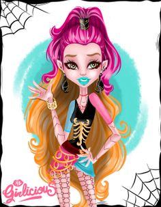 Gigi Grant from Monster High Scaremester by MyGirly
