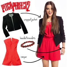 Get the Pitch Perfect look from the Bella newbie Emily!