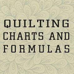 Wonderful set of charts and formulas for quiltingvery helpful everything for reducingenlarging blocks standard quilt sizes for different beds 12 square triangle measureme. Quilting 101, Quilting Tools, Quilting For Beginners, Sewing Projects For Beginners, Quilting Tutorials, Machine Quilting, Quilting Projects, Quilting Designs, Quilting Ideas