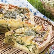 Torta salata con zucchine, pesto e Galbanino Frozen Strawberries, Strudel, Antipasto, Italian Recipes, Zucchini, Buffet, Food And Drink, Pizza, Pesto