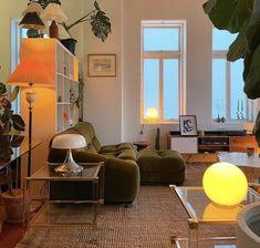 Dream Home Design, Home Interior Design, Interior Architecture, Vintage Interior Design, Interior Ideas, Casa Pop, Dream Apartment, Apartment Living, Aesthetic Room Decor
