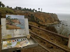 My favorite painting spot....Palos Verdes, CA