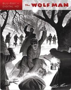 The Wolf Man Blu-ray #dvd #bluray #wolfman #horror #steelbook #collector #geek #movies #film #monster