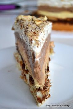 Czech Desserts, Sweet Desserts, Sweet Recipes, Cake Recipes, Dessert Recipes, Torta Recipe, Torte Recepti, Creative Food, Food To Make