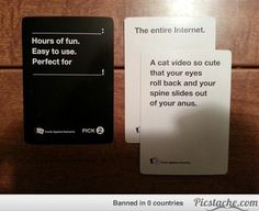 perfect win in cards against humanity