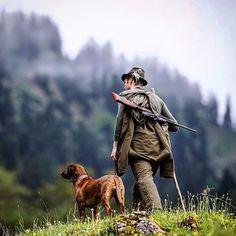 Hunting in Germany w Dog (Steiner Optics- Ranger Scope- ad)