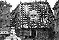 Mussolini's Fascist Headquarters, Rome.