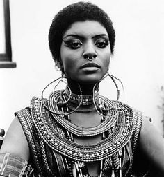 Vonetta McGee was an accomplished and charismatic Black actress who was relegated to starring roles in Black action films. Vonetta was diabolically seductive in Blacula and brought Shakti balance to Fred Williamson's hyped up yang in Hammer. A fine actress with untapped potential, Vonetta could not break free of the Blaxploitation ghetto.