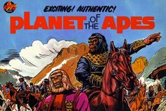 the planet of alpe SERIE DE TV | Hunter's Planet Of The Apes Archive features Power Records