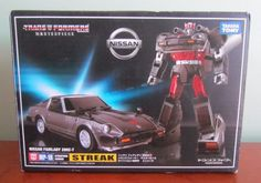 Transformers Takara Masterpiece MP-18 Streak Nissan Fairlady Z MIB Authentic USA #Takara