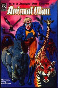 COMIC animal man 1 #comic #cover #art
