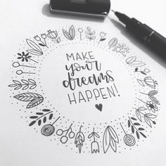 mentions J'aime, 15 commentaires - Léan Breytenbach (LEan Brey) sur Ins. Calligraphy Doodles, Doodle Lettering, Hand Lettering Quotes, Creative Lettering, Chalk Typography, Lettering Ideas, Bullet Journal Ideas Pages, Bullet Journal Inspiration, Bullet Journal Numbers