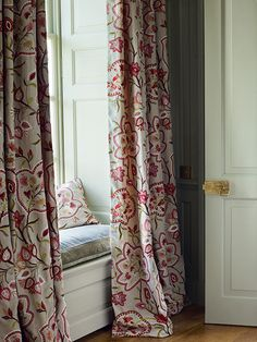 Tennyson Embroideries collection at Colefax and Fowler. http://www.eadeswallpaper.com