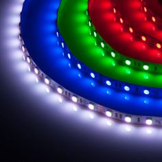 The perfect party light! LED strip light with a ton of color options. Create ambient bedroom lighting or a high energy party atmosphere!