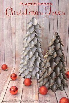 10 árboles de Navidad muy originales