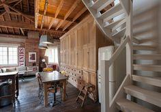 Casinha colorida: Um loft (ou O loft) para alugar em Londres