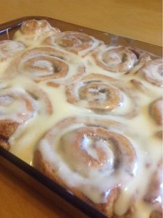 The Vegetarian Baker: Cinnamon Buns Dry Yeast, Buns, Cinnamon, Pudding, Vegetarian, Desserts, Projects, Recipes, Food