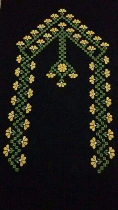 This Pin was discovered by şen Beaded Cross Stitch, Cross Stitch Kits, Cross Stitch Designs, Cross Stitch Embroidery, Hand Embroidery, Cross Stitch Patterns, Embroidery Stitches Tutorial, Types Of Embroidery, Embroidery Designs