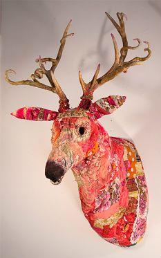 Linda Hall....fiber sculpture