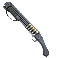 We are proud to carry the new Mossberg 590 Shockwave Quad Rail and Side Shell holder. The Mossberg Shockwave has been nothing short of a phenomenon. Self Defense Weapons, Weapons Guns, Guns And Ammo, Tactical Shotgun, Tactical Gear, Mossberg Shockwave, Home Defense Shotgun, Weapon Of Mass Destruction, Cool Guns