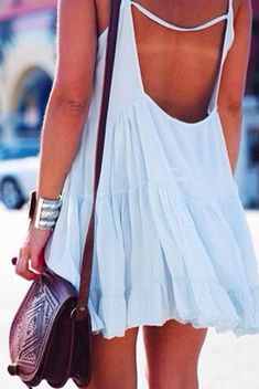 brandy melville baby blue dress perfect boho style for festival look