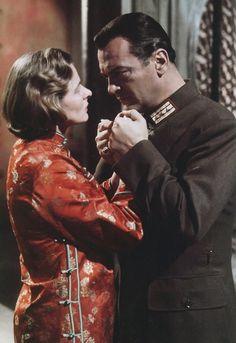 Ingrid Bergman and Curd Jürgens