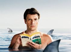 Nathan Fillion Goes Shirtless on Parade Magazine Cover