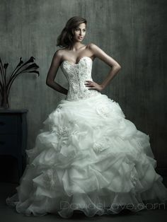 wedding dresses, wedding dresses, wedding dresses-The bigger the better for Alexis