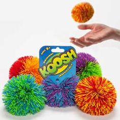 Koosh Balls - Loved them as a kid. Love them today.
