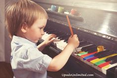 Some children want to paint the piano to match their Upado Unlimited xylophone. This is not something we recommend.