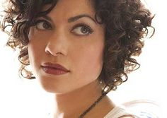 Hairstyles for Curly Short Hair | http://www.short-haircut.com/hairstyles-for-curly-short-hair.html