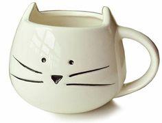 Moyishi Lovely Cute Little White Cat Coffee Milk Ceramic Mug Cup Christmas Birthday Best Gift Moyishi http://www.amazon.com/dp/B00IO13KNG/ref=cm_sw_r_pi_dp_x5Swub0ERTGDC