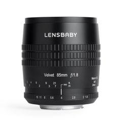 photo Lensbaby Velvet 85mm f/1.8 pour Nikon
