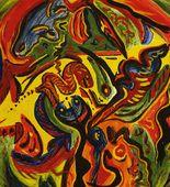 Jackson Pollock. Circle. c. 1938-41