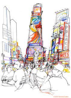 urban sketchers - Veronica Lawlor