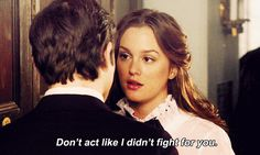 Animated gifFind images and videos about quotes, gossip girl and blair waldorf on We Heart It - the app to get lost in what you love. Mode Gossip Girl, Estilo Gossip Girl, Gossip Girl Blair, Gossip Girl Fashion, Gossip Girls, Ellie Saab, Upper East Side, Jane Austen, Blair Quotes