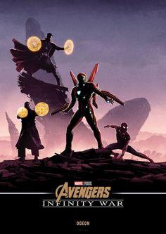 Avengers: Infinity War Odeon Poster - Matt Ferguson