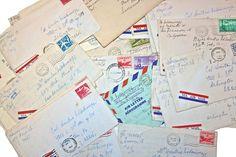 Vintage 1940's-1960's War Letters