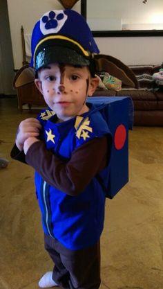 Chase Paw Patrol diy costume