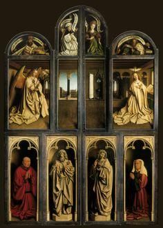 Políptico de Gante (El Políptico de la Adoración del Cordero Místico), 1432