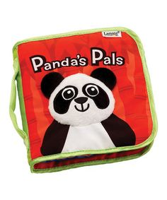 """Lamaze Cloth Book, Panda's Pals High contrast animals stimulate baby's developing vision Each page features a differenet """"pal"""" for baby to focus on Crinkly plush panda on cover Soft book Lamaze books make great shower gift Activity Toys, Book Activities, Go To Walmart, Thing 1, Developmental Toys, Baby Learning, Top Toys, Baby Development, Visual Development"""
