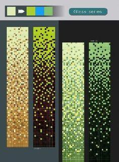 glow dark photoluminescent luminescent jady swimming pool mosaic tiles