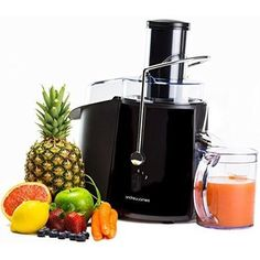 Electric Whole Fruit Juicer Machine Press Citrus Vegetable Juice Extractor Black