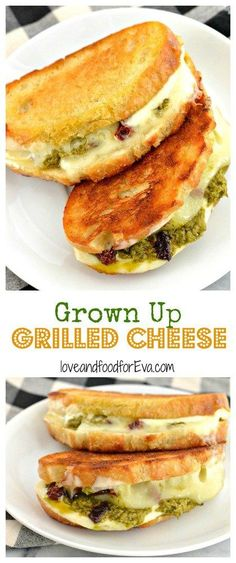 Grown Up Grilled Cheese | Love & Food For Eva
