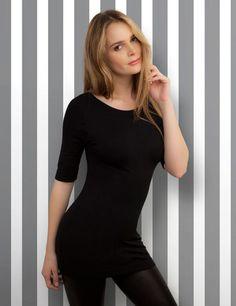 Long Shirt Half Sleeves | BEST WEAR basics - shirts - tops - casual and elegant
