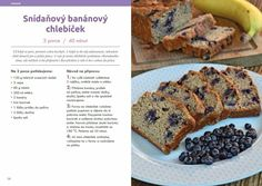 Food Inspiration, Banana Bread, Ale, French Toast, Food And Drink, Vegetarian, Healthy Recipes, Cooking, Breakfast
